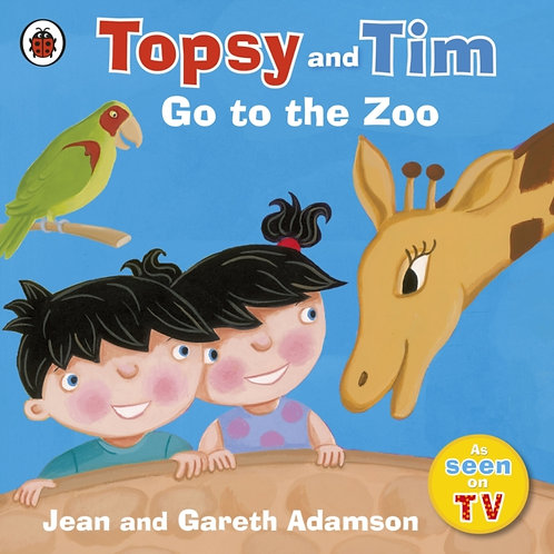 Topsy and Tim: Go to the Zoo by Jean Adamson