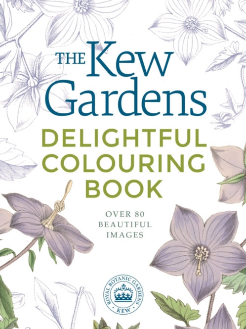 Kew Gardens Delightful Colouring Book by Arcturus Publishing