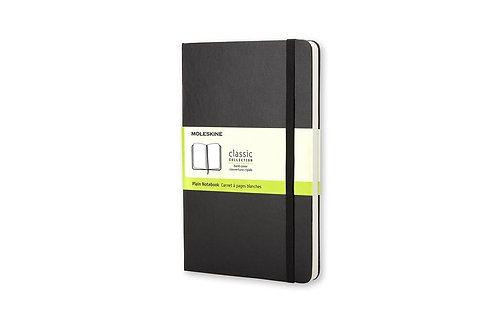 Moleskine Pocket Plain Hardcover Notebook Black       by Moleskine