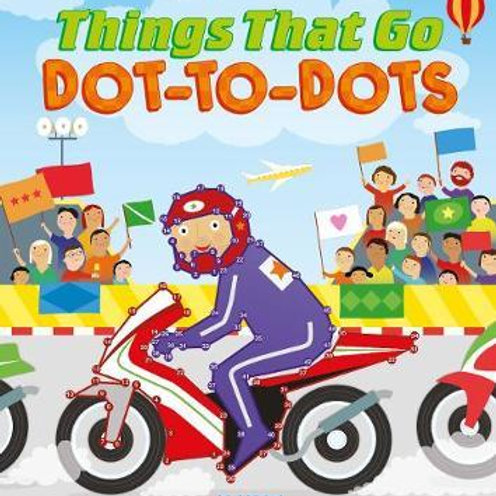 Things That Go Dot-to-Dots       by Jo Moon