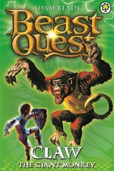 Beast Quest: Claw the Giant Monkey       by Adam Blade