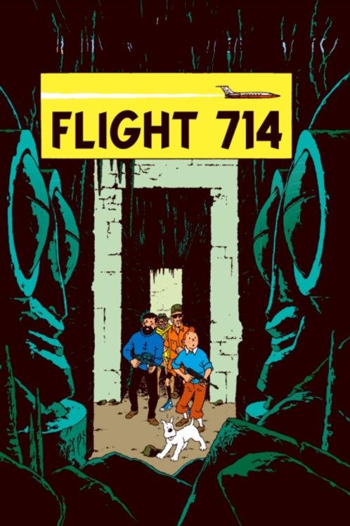 Flight 714 to Sydney       by Herge