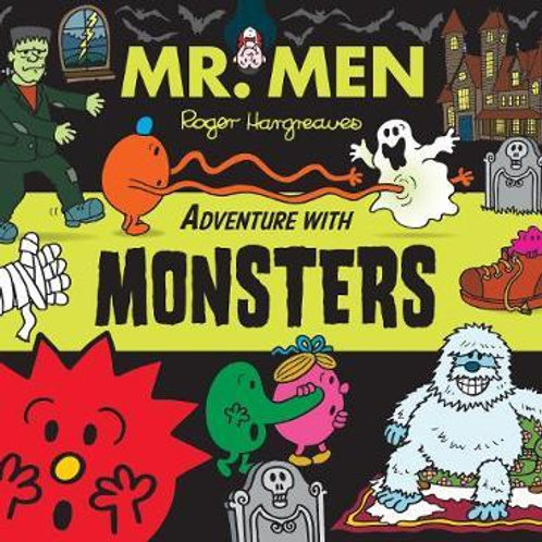 Mr. Men Adventure with Monsters       by Adam Hargreaves