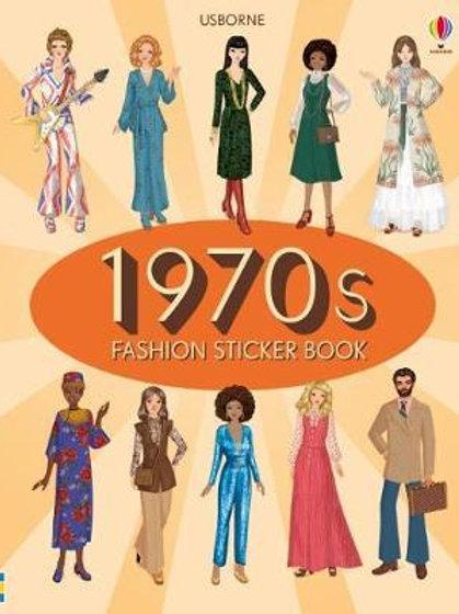 1970s Fashion Sticker Book       by Emily Bone