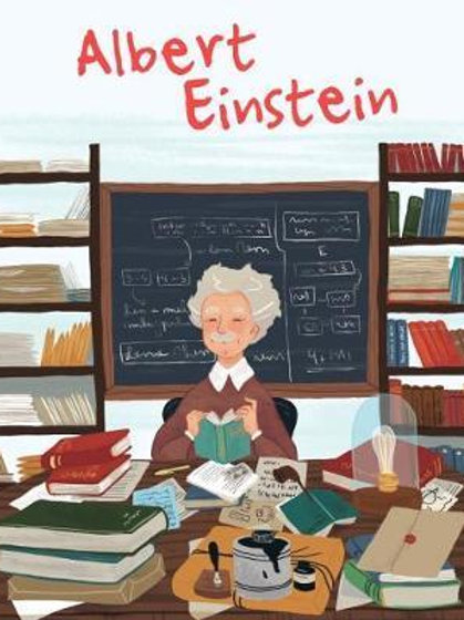 Albert Einstein Genius       by Isabel Munoz