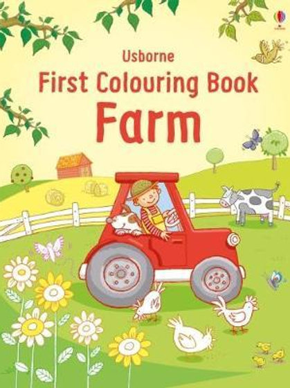 First Colouring Book Farm       by Jessica Greenwell