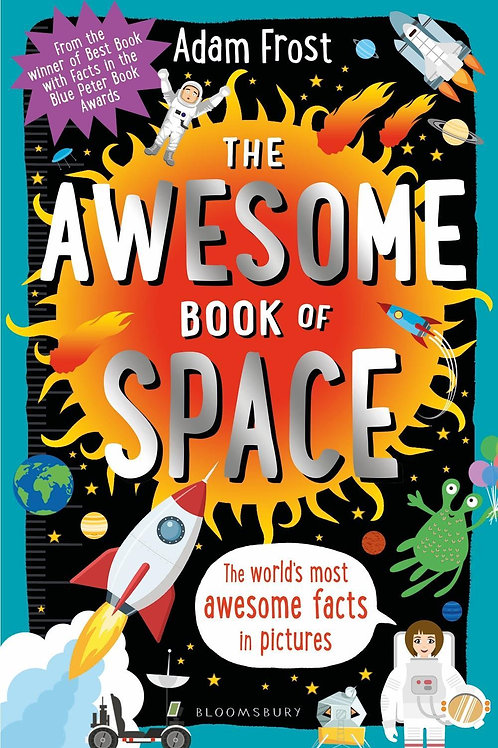 Awesome Book of Space       by Adam Frost