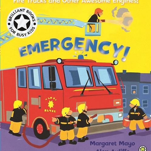 Awesome Engines: Emergency!       by Margaret Mayo