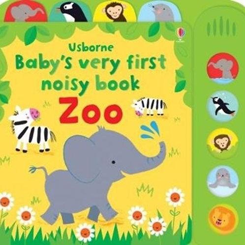 Baby's Very First Noisy Book Zoo by Fiona Watt
