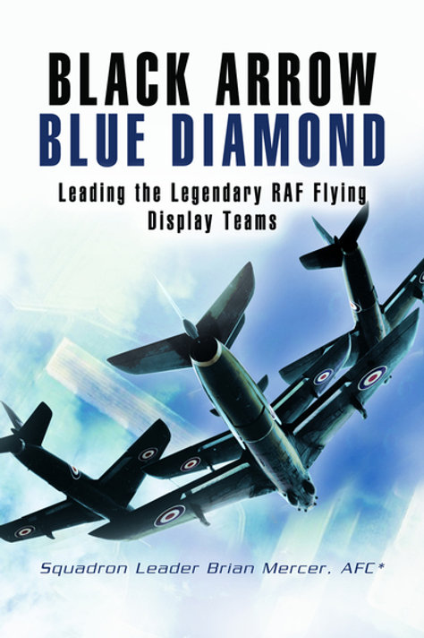 Black Arrows Blue Diamonds by Brian Mercer