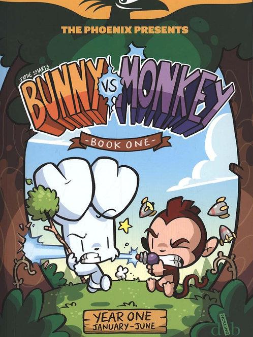 Bunny vs Monkey 1: Let the Mayhem Begin       by Jamie Smart