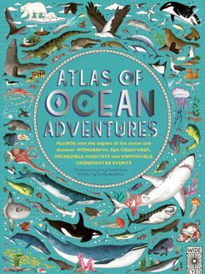 Atlas of Ocean Adventures       by Lucy Letherland