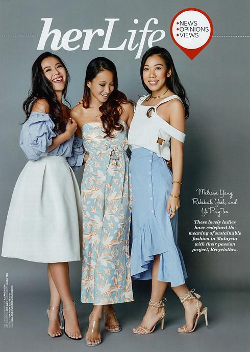 Her World November Issue 2017