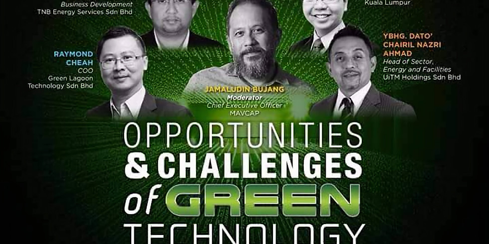 Let's Jam @GEM16: Opportunities and Challenges of GREEN