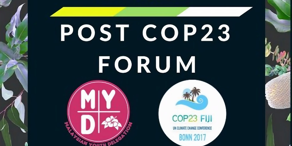 Post COP23 Forum and Luncheon