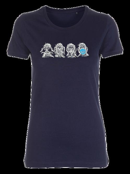 """Damen T-Shirt """"Monkey"""""""