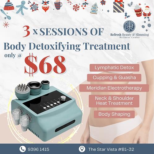 3 X Body Detoxifying Treatment @ $68