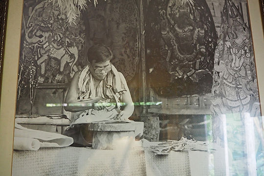 SUCHART SAPSIN SHADOW PUPPET FOLK MUSEUM,ナンタルン,博物館,スチャート,サプシン,ナコンシータンマラート,影絵,伝統,文化,南部,タイ,บ้านหนังตะลุง,สุชาติ,ทรัพย์สิน,東南アジア,舞台,ナンヤイ,パッタルン,アジア,ノーラー,ラーマキエン,