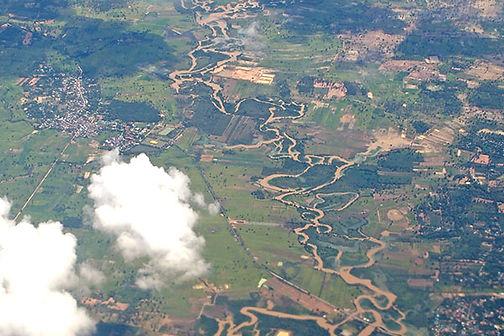 แม่น้ำโขง,タイの河川,メコン川,ムーン川,チー川,ソンクラーム川,ラオス,東南アジア,ゴールデントライアングル,地図,ボートトリップ,ノーンカーイ,ナコンパノム,友好橋,地図,イサーン,東北,空撮,絶景