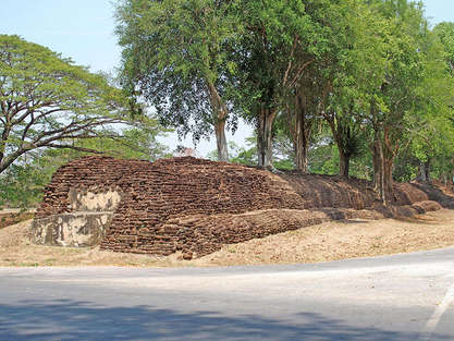 อุทยานประวัติศาสตร์ กำแพงเพชรガンペンペット歴史公園