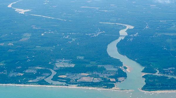 タイ,河川,地図,地理,東南アジア,チャオプラヤー,インドシナ,南部,ターピー,パンガー,ラムパム,ナコンシータンマラート,スラーターニー,貿易,แม่น้ำตรัง,แม่น้ำตาปี,คลองศก,คลองท่าสู,งคลองกลาย,แม่น้ำกระบี่,คลองลำปำ,