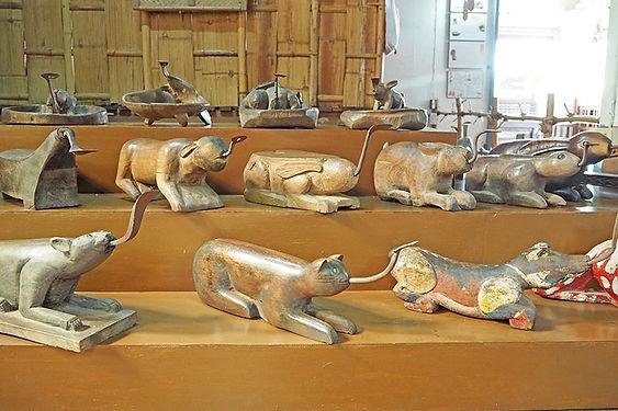JA THAWEE FOLK MUSEUM,พิพิธภัณฑ์พื้นบ้านจ่าทวี,ジャータウィー民俗博物館,ピッサヌローク,伝統,文化,歴史,