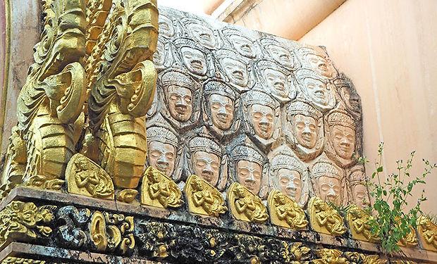 ターイトゥンルアン,スリン,シルク,サワーイ,伝統,文化,カンボジア,歴史,観光,地図,パノムサワーイ,火山,วนอุทยานพนมสวาย,พระพุทธสุรินทรมงคล,นาบัว,ตลาดไหมใต้ถุนเรือน,สวาย,สุรินทร์ ,ผ้าไหม,ドゥン・アトゥロー,階段