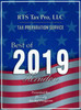 "RTS Tax Pro, LLC received ""Tax Preparation Service Best of 2019"" from Herndon Award Program."