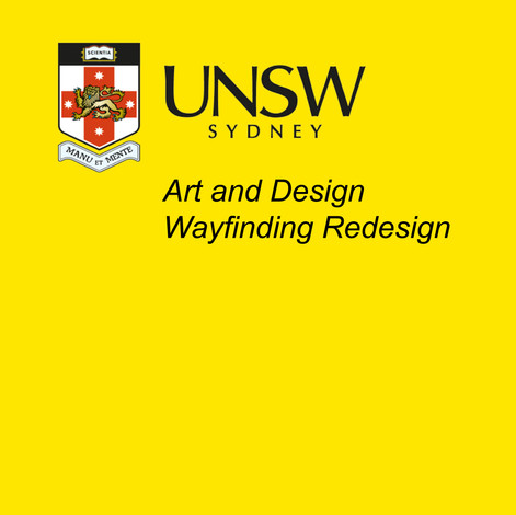 UNSW WAYFINDING