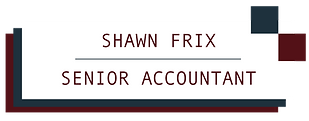 Shawn Frix, Sr Accountant