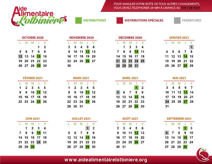 AideAlimentaireLotbiniere_CALENDRIER_202
