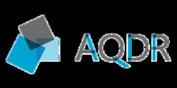 Logo AQDR association québécoise en défense des droits des personnes retraitées de préretraitées