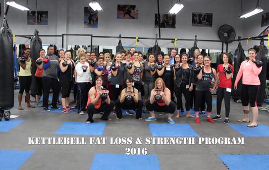 Kettlebell Fat Loss & Strength Program Day 1