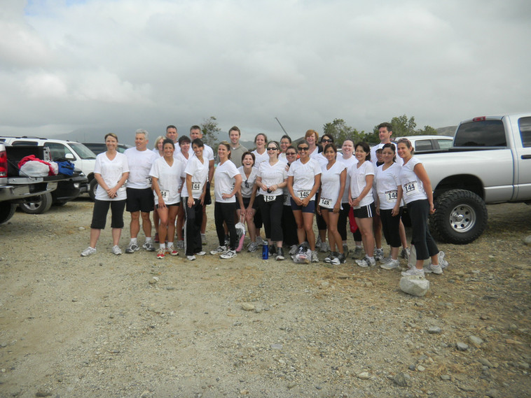 Members and Instructors Participate in SB County Mudd Run