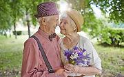 Un couple aîné