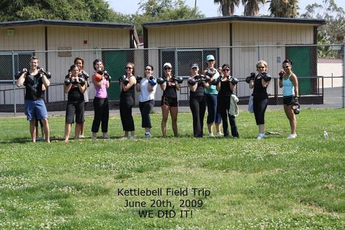Kettlebell Field Trip