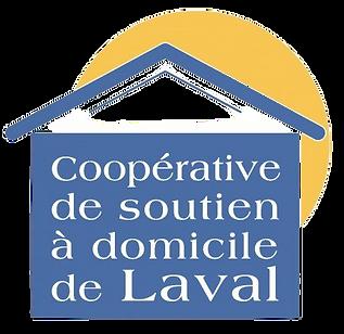 Logo Coopération de soutien à Domicile de Laval, un lien direct à leur site internet