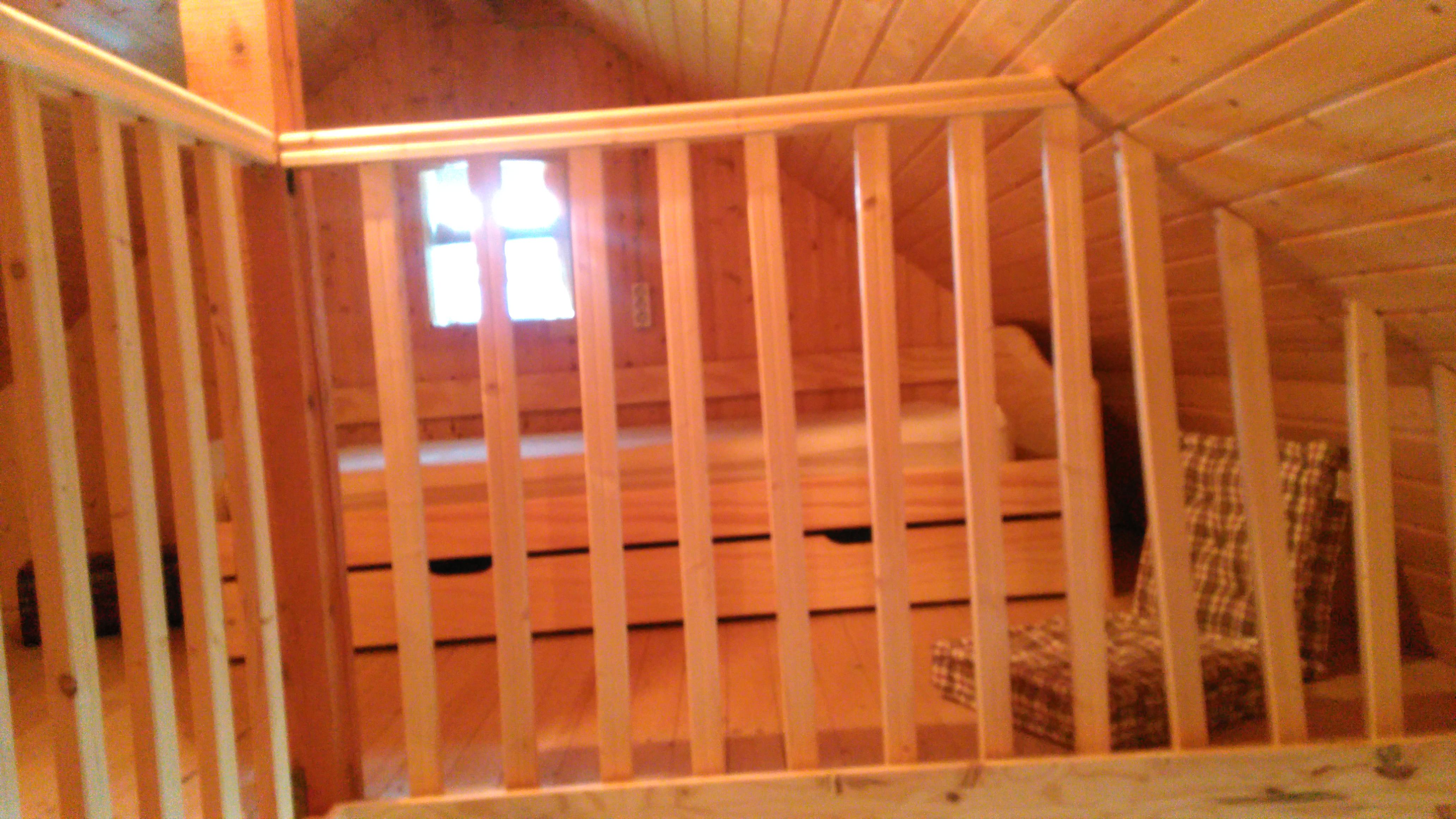lits simples sur Mezzanine