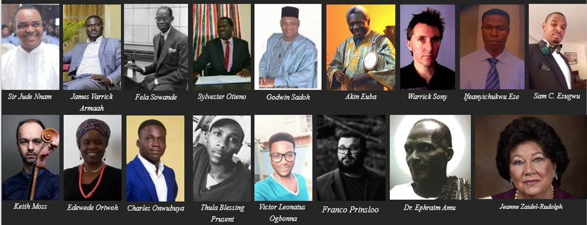 Some African Composers.JPG
