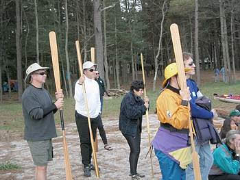 Copy of paddlers at attention