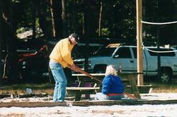 Big Dog teaches Greenland golfing