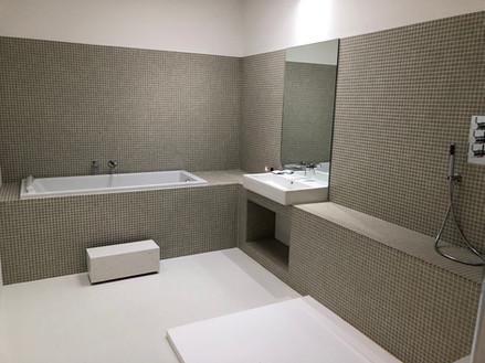 Modern bathrooms with a minimalist feel