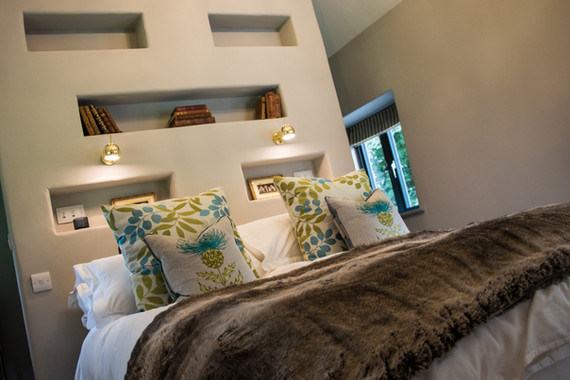 Ware Construction converted two existing barns into accommodation with guest accommodation.