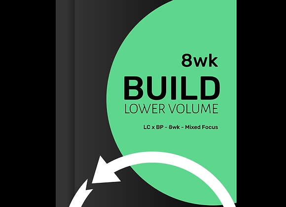 BUILD Mixed Focus LOW VOLUME 8wk