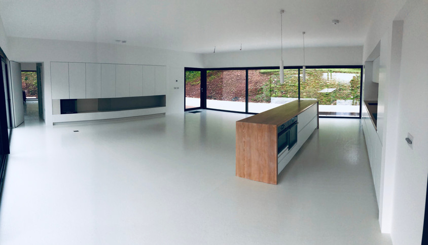 A stunning modern property in a beautiful location