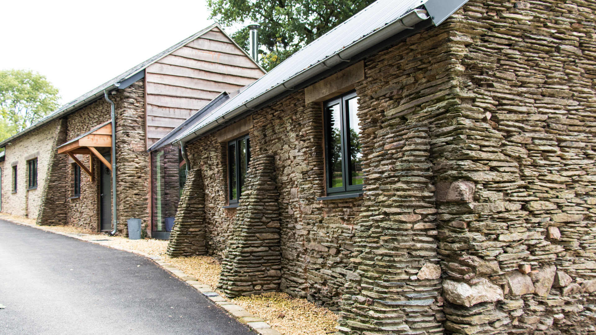 Bittescombe Barns by Ware Construction