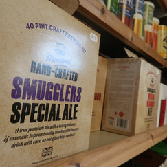 Brew your own ale kits available at Stuart Lowen Farm Shop