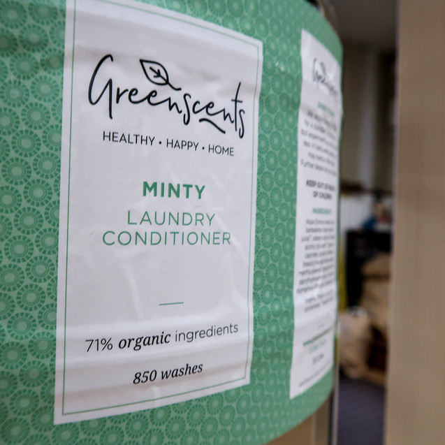Greenscents minty laundry conditioner