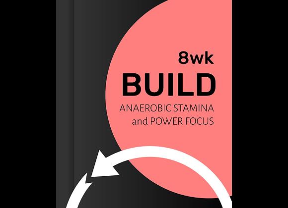 BUILD  Anaerobic Stamina & Power Focus 8wk