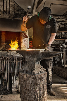 Dunster Country Fair Village Green - West Country Blacksmiths